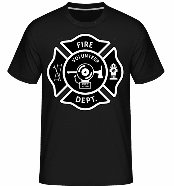 Vire Volunteer Dept -  Shirtinator Men's T-Shirt - Black - Vorn
