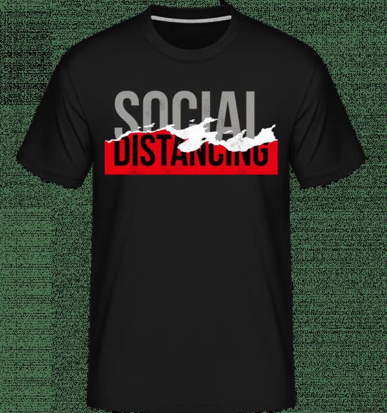 Social Distancing -  Shirtinator Men's T-Shirt - Black - Vorn
