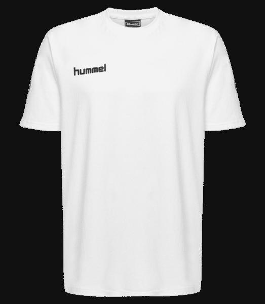Hummel Go Cotton T-Shirt S/S - Bílá - Napřed