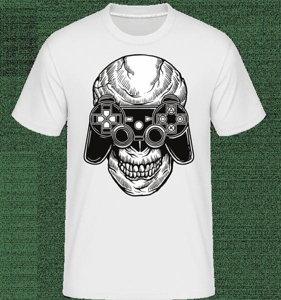 Skull Gamers -  Shirtinator Men's T-Shirt - White - Vorn