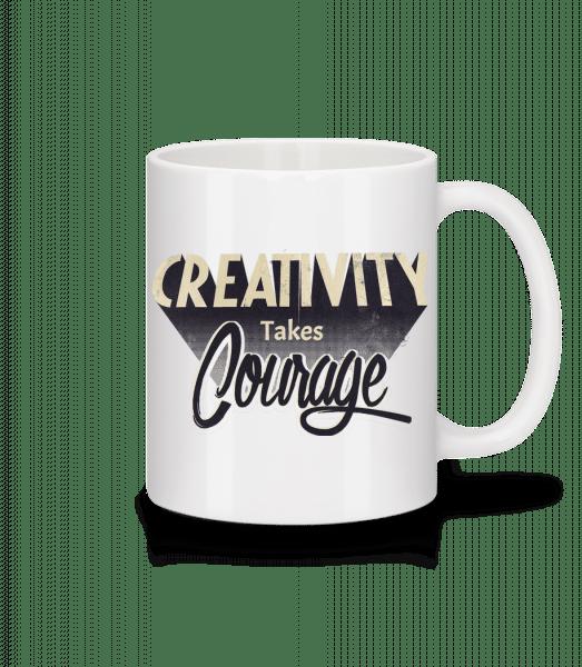 Creativity Takes Courage - Mug - White - Vorn
