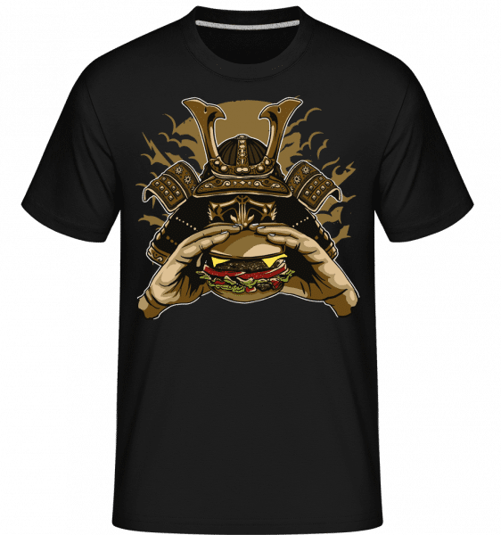 Samurai Burger -  Shirtinator Men's T-Shirt - Black - Vorn