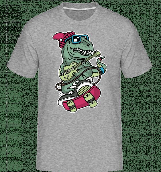 Trex Skateboard -  Shirtinator Men's T-Shirt - Heather grey - Front