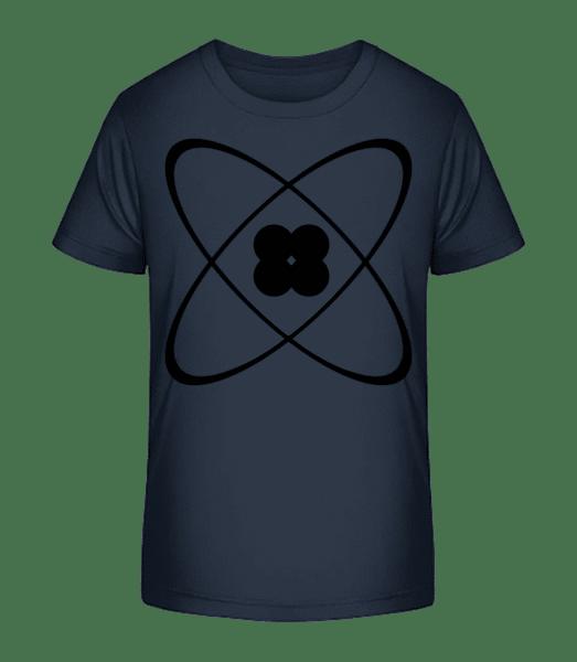 Symbol Of An Atom - Kid's Premium Bio T-Shirt - Navy - Vorn
