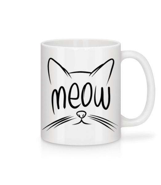 Meow - Mug - White - Front