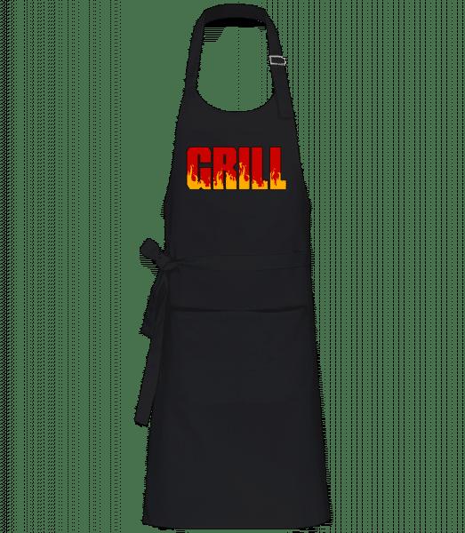 Gril - Profesionální zástĕra - Černá - Napřed
