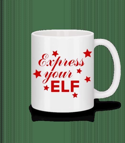 Express Your Elf - Mug - White - Vorn