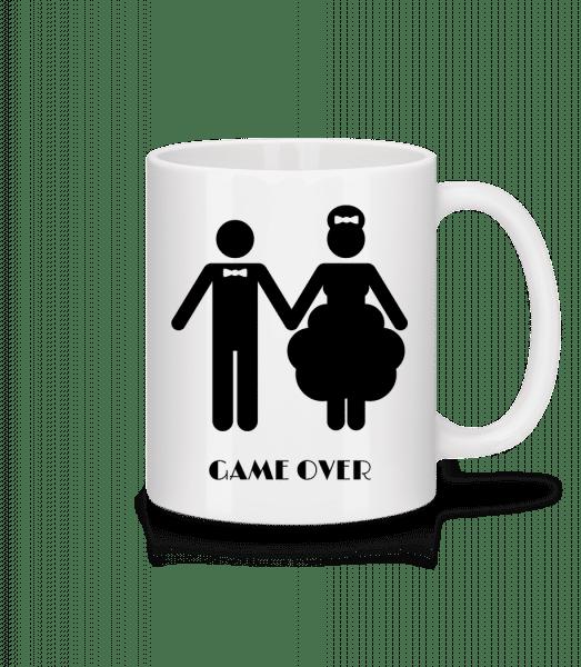 Game Over Wedding - Mug - White - Vorn