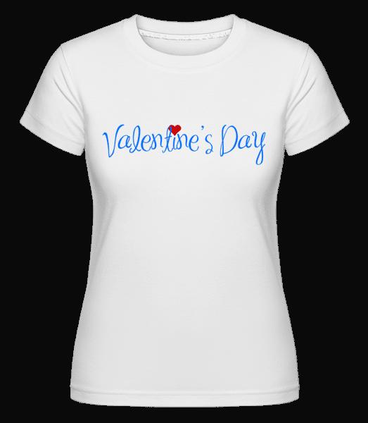 Valentine's Day -  Shirtinator Women's T-Shirt - White - Vorn