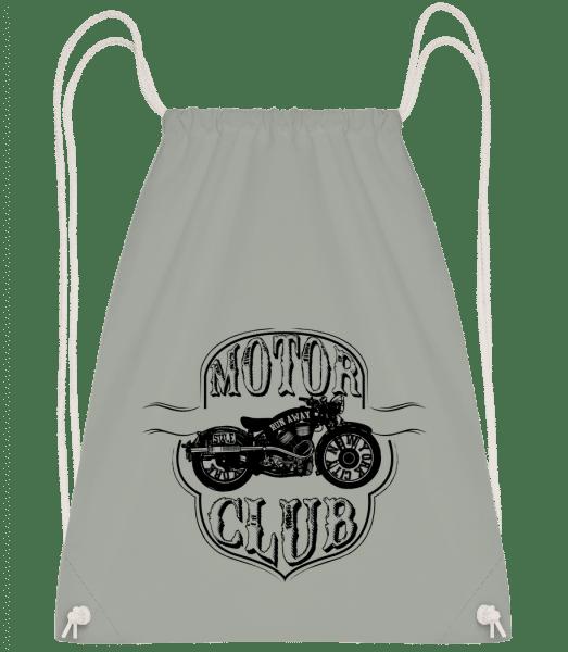Motorclub Icon - Drawstring Backpack - Anthracite - Vorn