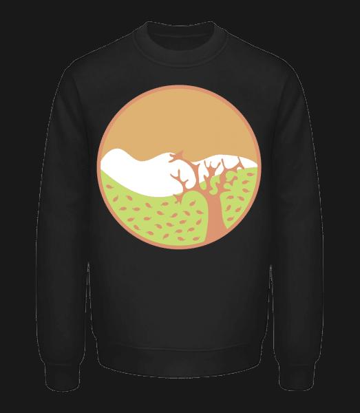 Autumn Landscape - Unisex Sweatshirt - Black - Front