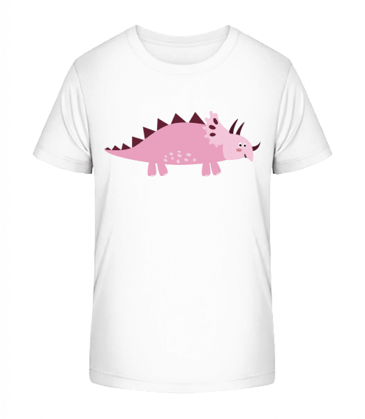 Triceratops - Kid's Premium Bio T-Shirt - White - Vorn