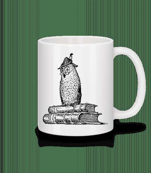 Teacher Owl - Mug - White - Front