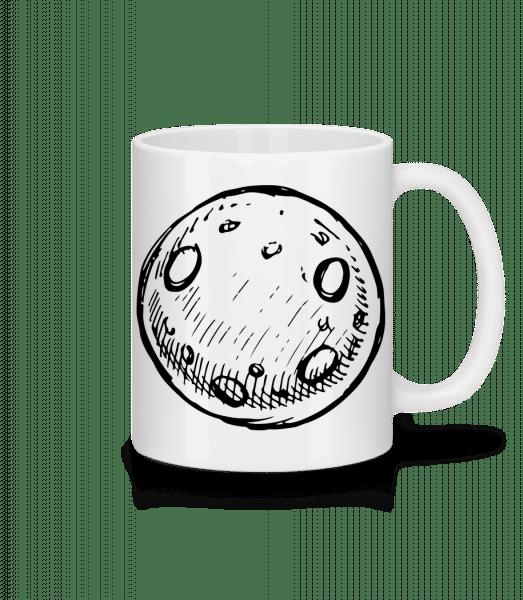 Moon - Mug - White - Front