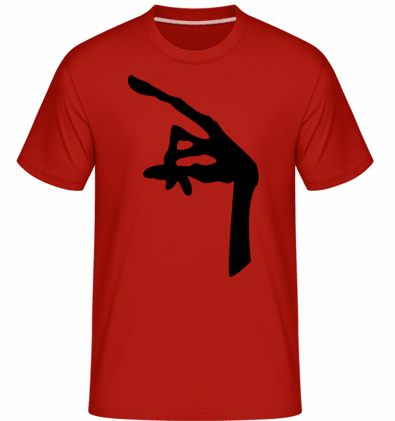 Hand Of An Alien -  Shirtinator Men's T-Shirt - Red - Vorn