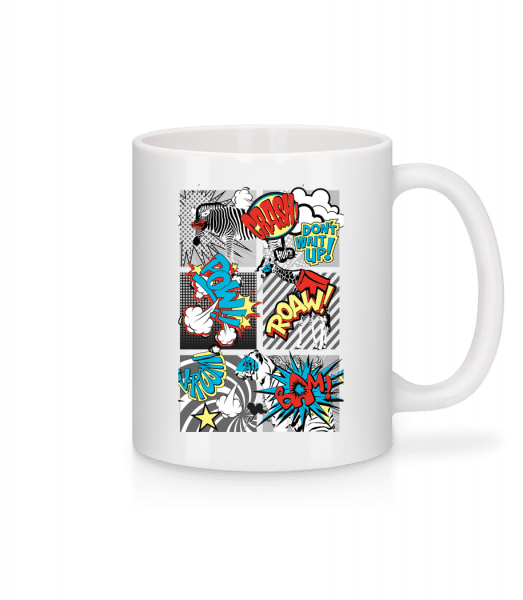 Cartoon Animals - Mug - White - Vorn