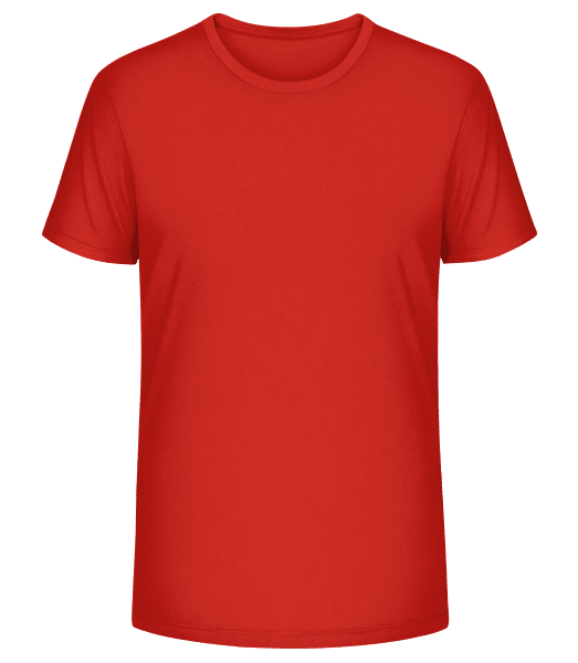 T-shirt bio Stanley Stella Homme - Rouge - Vorn