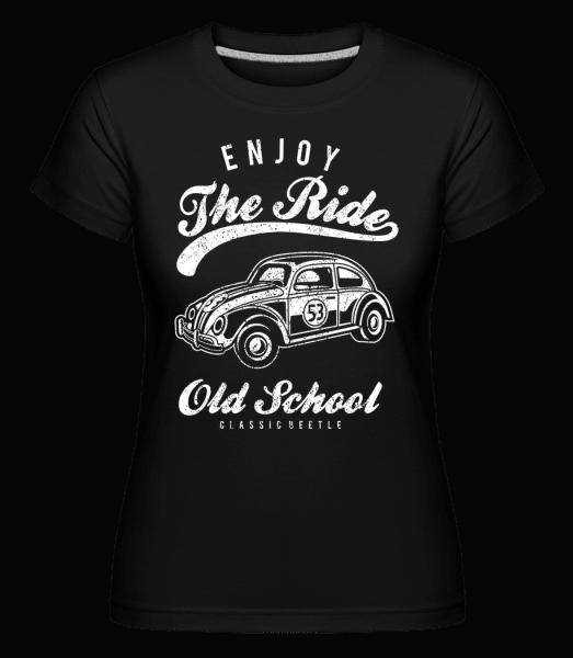Enjoy The Ride -  Shirtinator Women's T-Shirt - Black - Vorn