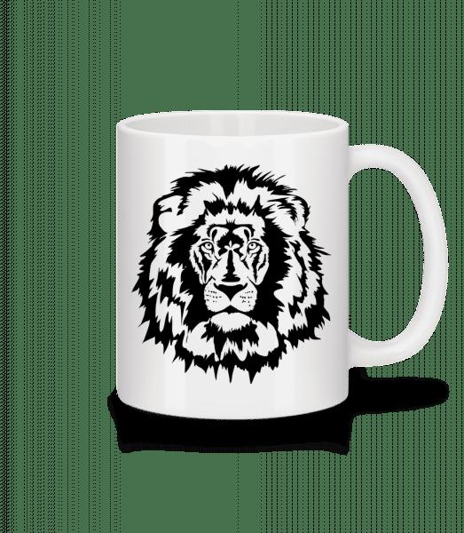 Lion - Mug - White - Front