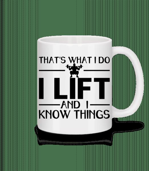 Lifting Thats What I Do - Mug - White - Vorn