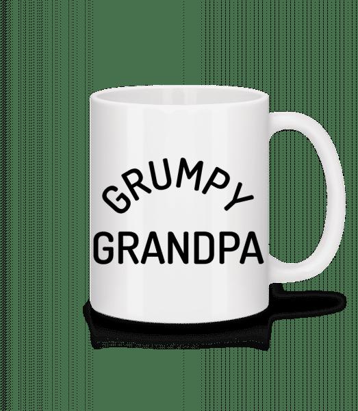 Grumpy Grandpa - Mug en céramique blanc - Blanc - Devant
