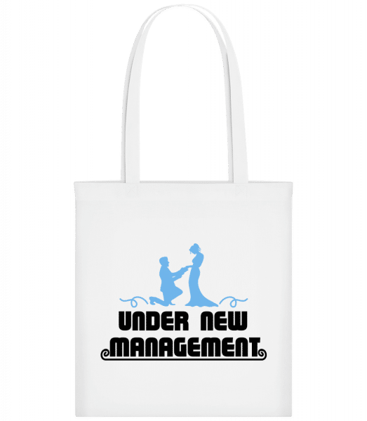 Mariage Under New Management - Carrier Bag - White - Vorn