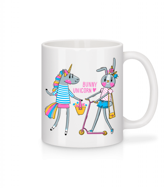 Bunny And Unicorn - Mug - White - Vorn