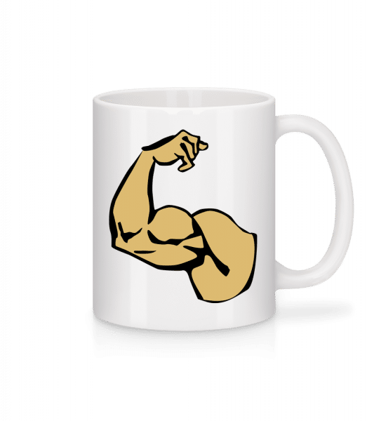 Muscles - Mug - White - Vorn