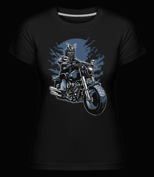 Samurai Ride -  Shirtinator Women's T-Shirt - Black - Vorn