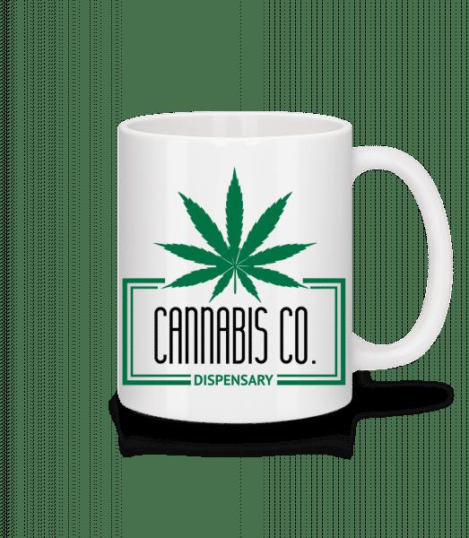 Cannabis Co. Icon - Mug - White - Vorn