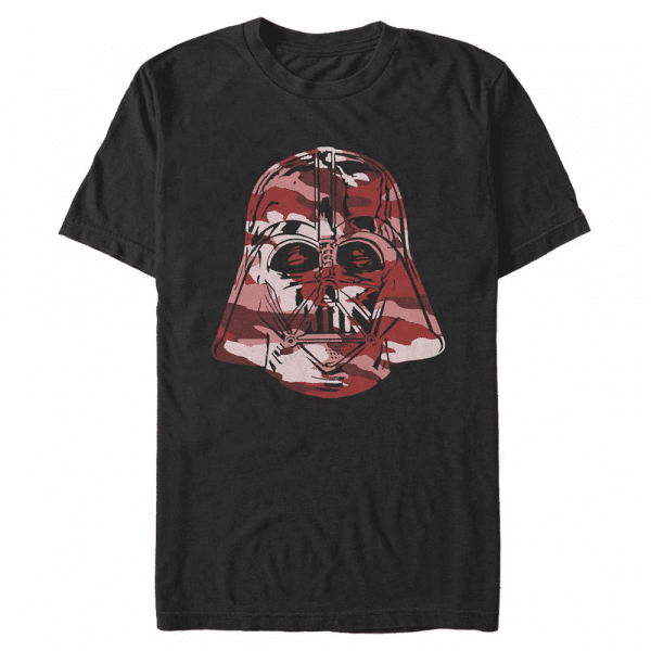 Camo Vader Darth Vader - Star Wars - Men's T-Shirt - Black - Front