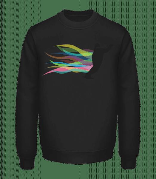 Snowboarding - Unisex Sweatshirt - Black - Vorn