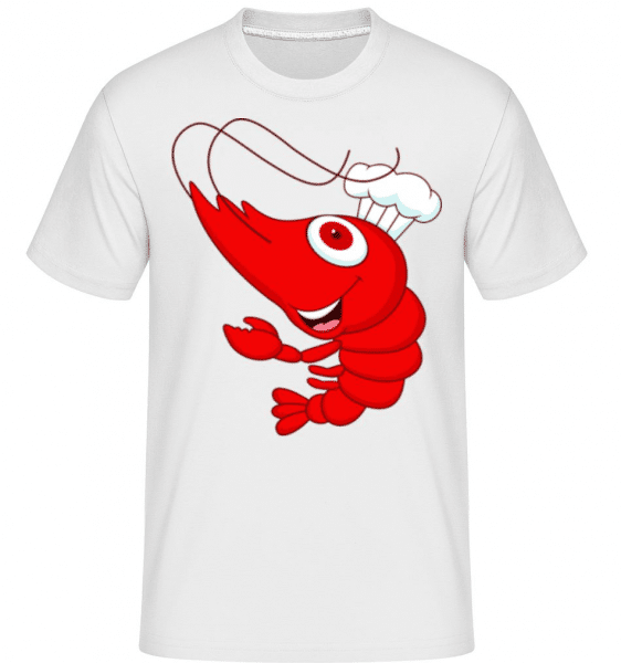 Funny Crab -  Shirtinator Men's T-Shirt - White - Front