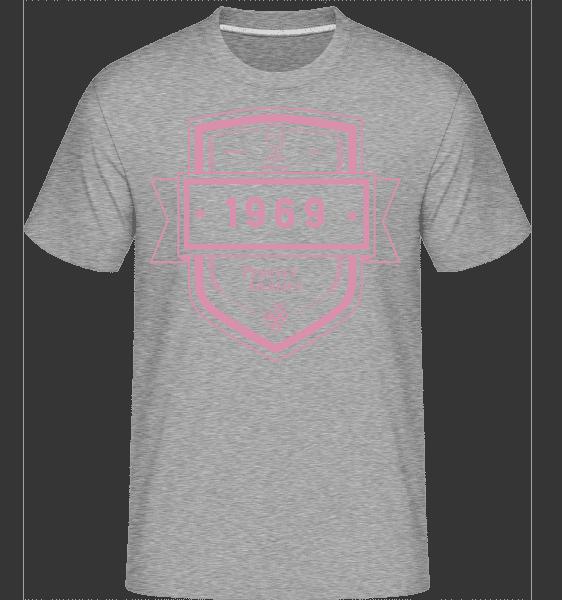 Perfekt Gereift 1969 - Shirtinator Männer T-Shirt - Grau meliert - Vorn