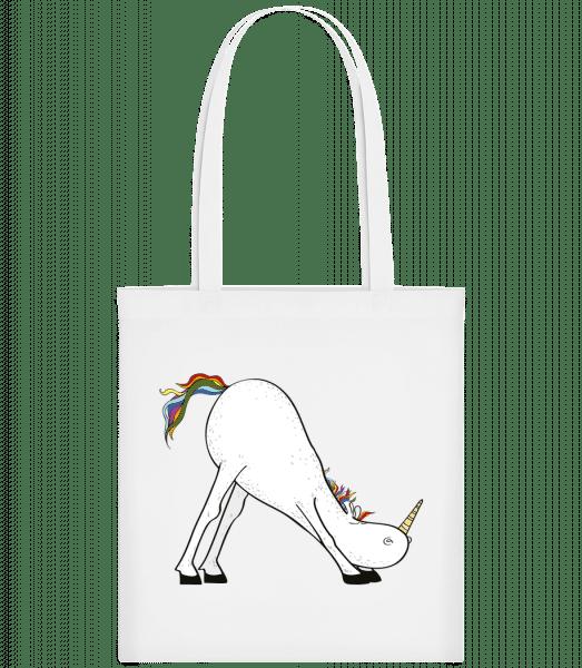 Yoga Unicorn The Slide - Carrier Bag - White - Vorn