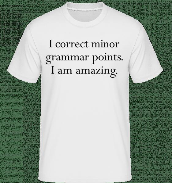 I Am Amazing -  Shirtinator tričko pro pány - Bílá - Napřed