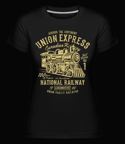 Union Express -  Shirtinator Women's T-Shirt - Black - Vorn