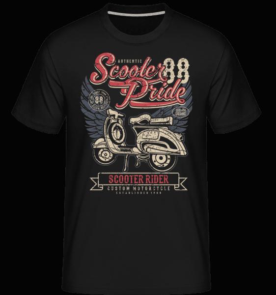 Scooter Pride -  Shirtinator Men's T-Shirt - Black - Vorn