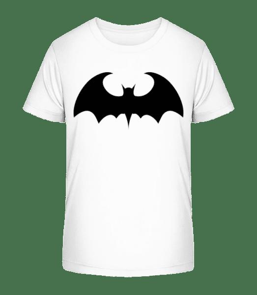 Bat - Kid's Premium Bio T-Shirt - White - Vorn