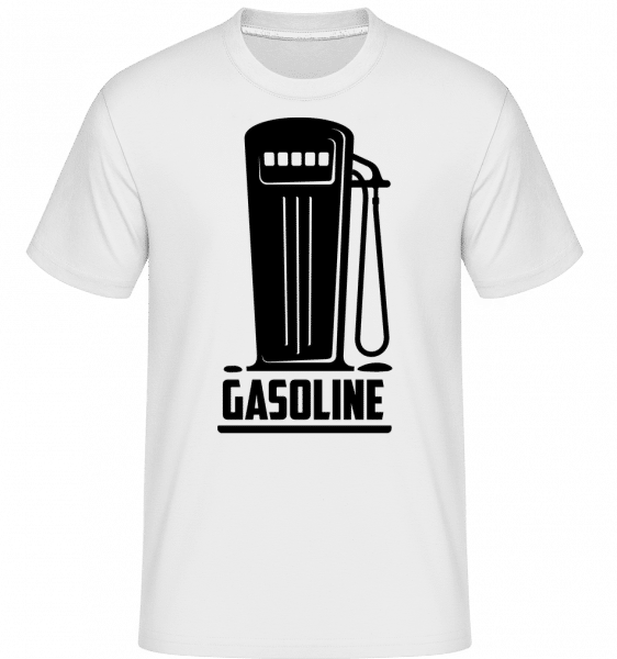Gasoline Symbol -  Shirtinator Men's T-Shirt - White - Front