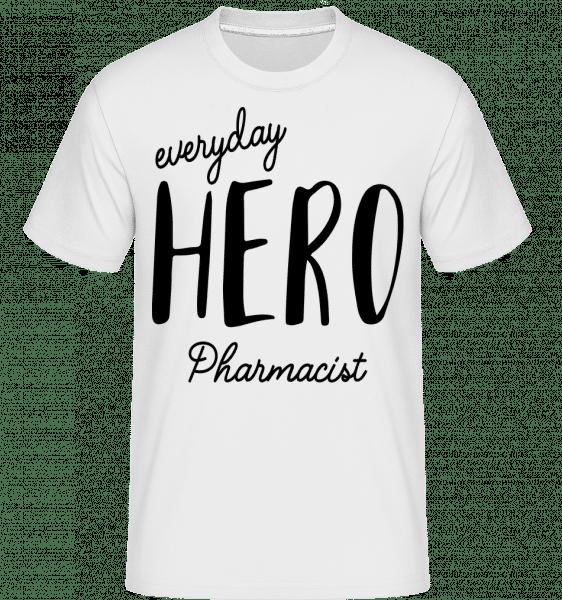 Everyday Hero Pharmacist - Shirtinator Männer T-Shirt - Weiß - Vorn