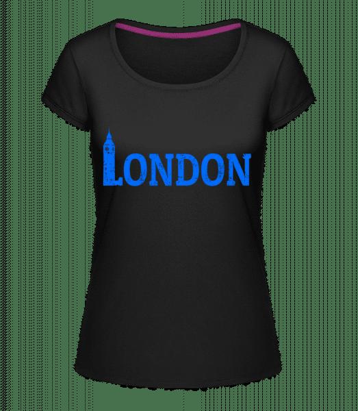 London UK - Megan Crewneck T-Shirt - Black - Vorn