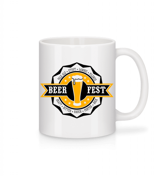 Beer Fest - Tasse - Weiß - Vorn