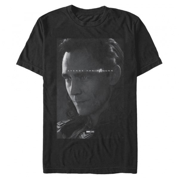 Avenge Loki - Marvel Avengers Endgame - Men's T-Shirt - Black - Front