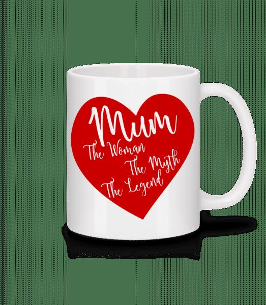 Mum - The Legend - Mug - White - Vorn
