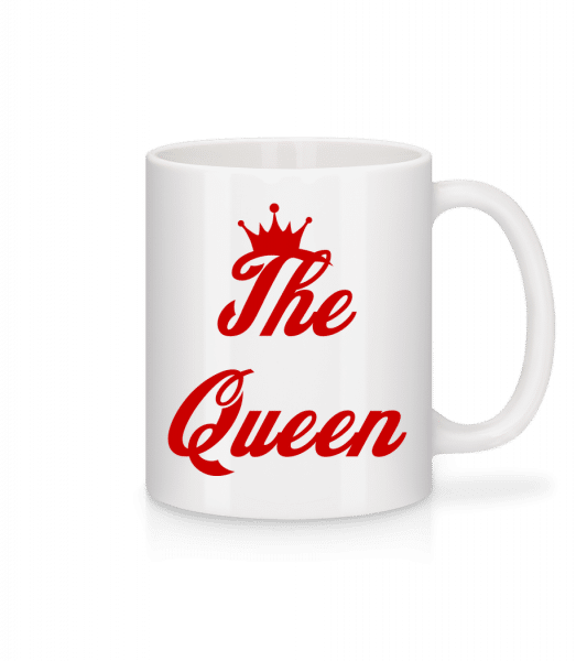 The Queen - Mug - White - Vorn