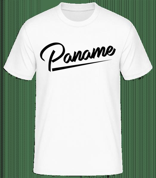 Paname - T-shirt standard Homme - Blanc - Devant