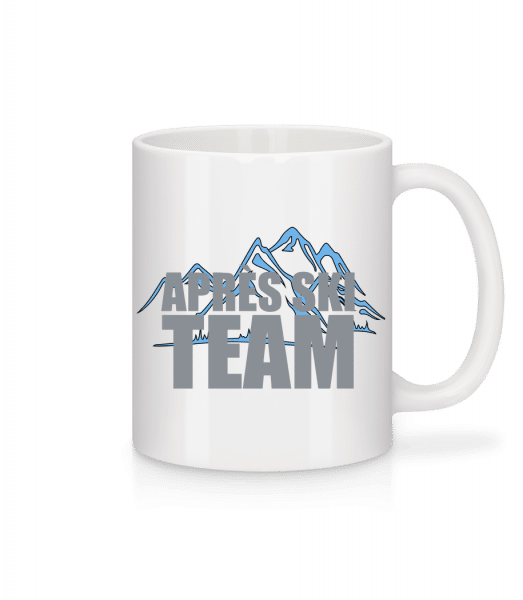 Team Après Ski - Mug - White - Vorn