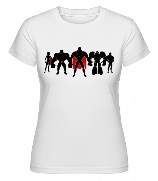 Superman League -  T-shirt Shirtinator femme - Blanc - Devant