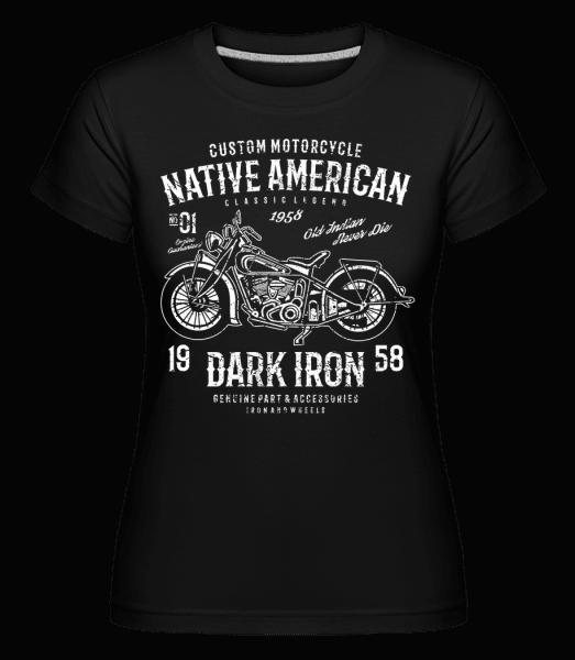 Dark Iron -  Shirtinator Women's T-Shirt - Black - Vorn